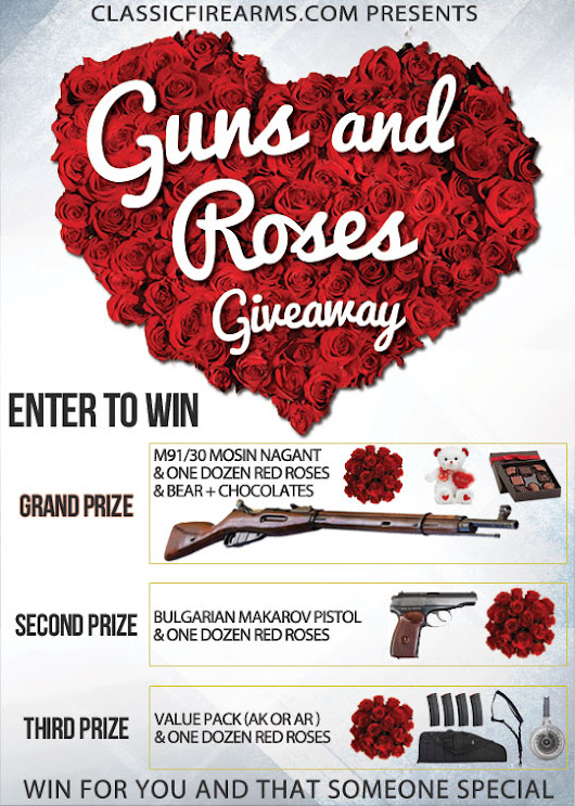 2017 Guns and Roses V-Day Giveaway