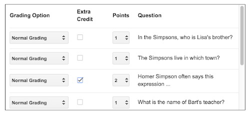 New Grading Options in Flubaroo: Extra Credit and Checkbox! - Welcome to Flubaroo