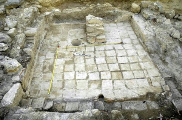 A photo released by the Greek Ministry of Culture on Aug. 25 shows an excavation site near Sparta in the Peloponnese region with remains of a palace of the Mycenaean period.