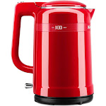 KitchenAid 100 Year Limited Edition Queen of Hearts KEK1565QHSD Steel Kettle - 1500W - 1.6 qt - Passion Red