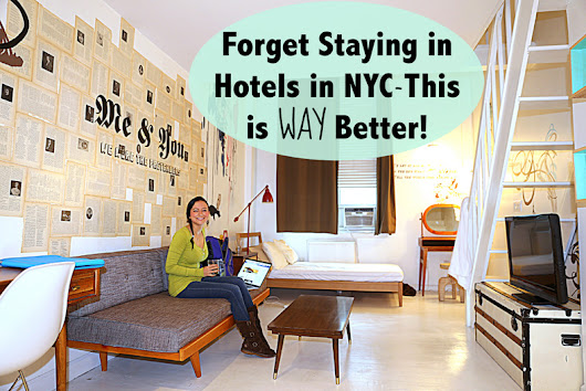 Forget Staying in Hotels in NYC-This is WAY Better! | The Legendary Adventures of Anna