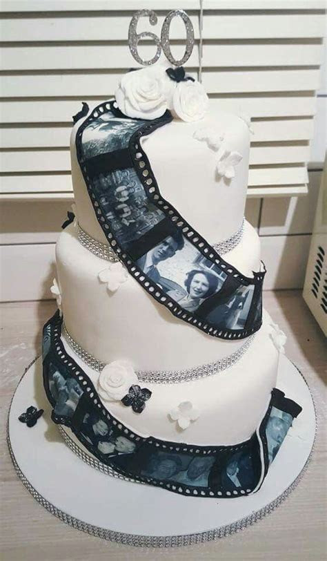Best 25  60th anniversary cakes ideas on Pinterest