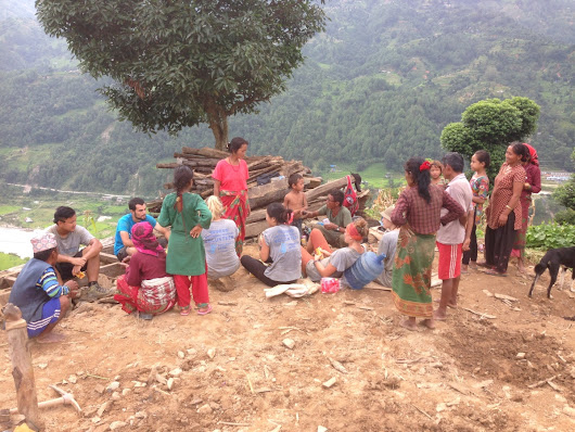 An All Hands Experience – Nepal