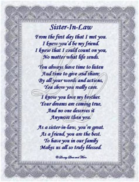 Future Sister Law Quotes