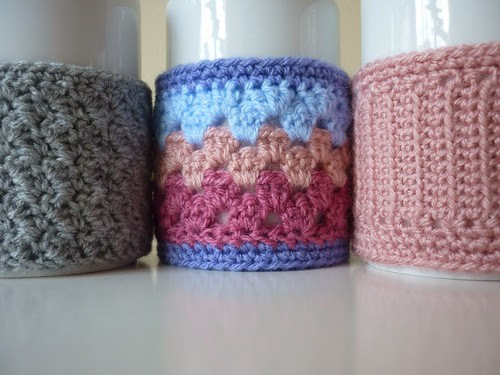 3 mug cosies