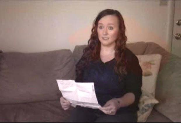 A americana Ashley Brady, que perdeu uma das pernas num acidente em 2014 (Foto: Reprodução / ABC 7)