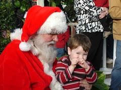 Chunk and Santa