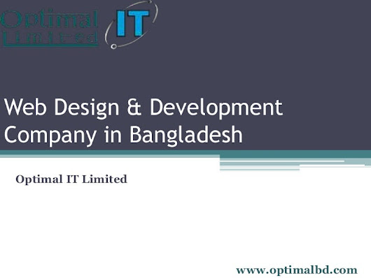 Web design & development company in Bangladesh