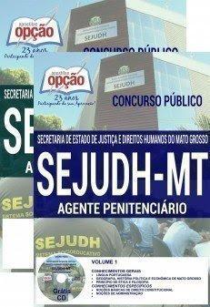 Apostila concurso SEJUDH/MT 2017 AGENTE PENITENCIÁRIO