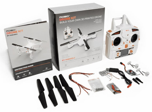 3D Printed Drone Quadcopter Kit - Becoming 3D