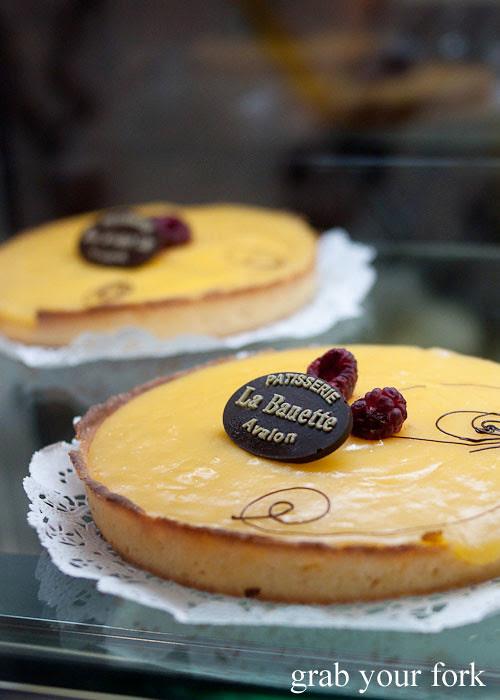 la banette lemon tart dessert