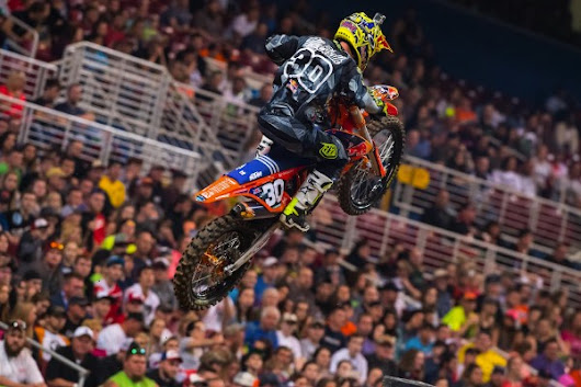 SPOILER: 2016 Monster Energy AMA Supercross 250SX East Round 6 Results