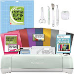Cricut Explore Air 2 Machine Bundle - Beginner Guide, Tool Kit, Vinyl Pack, Designs & Project Inspiration | by Craft-e-Corner