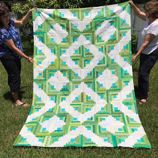 Friday Finish: Blog Makeover and a Quilt Top