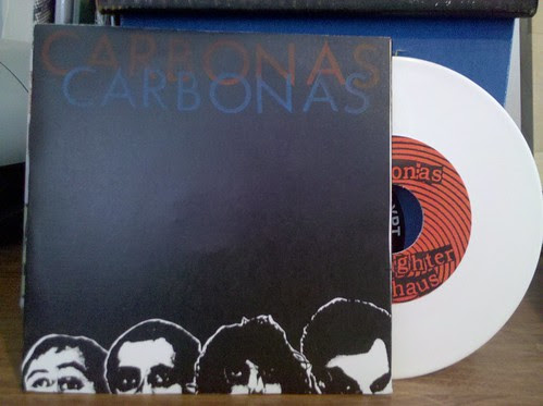 "Carbonas - I'm Astray 7"" - 1st pressing, white vinyl /100 by factportugal"