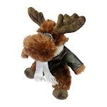 Unipak 30cm Plush Brown Moose