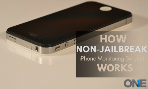 How Non Jail-break iPhone Monitoring Solution Works?