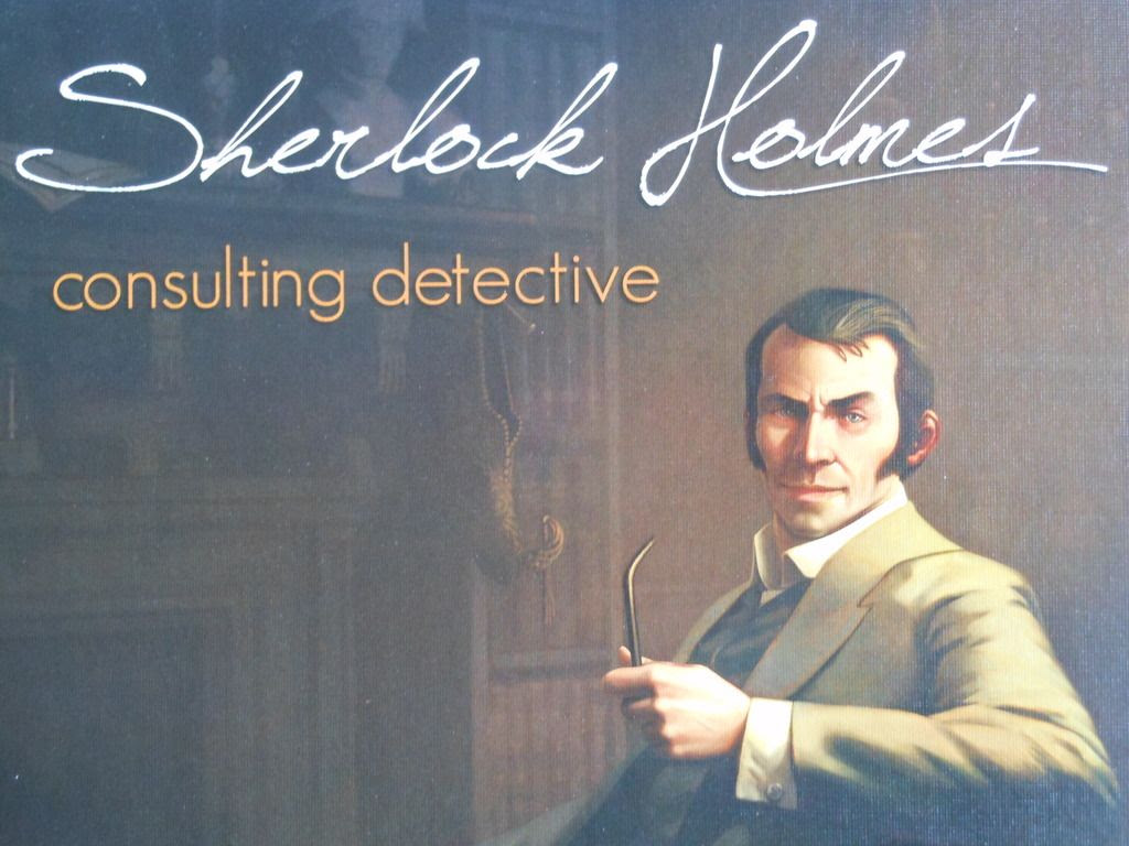 Sherlock Holmes Consulting Detective box art.