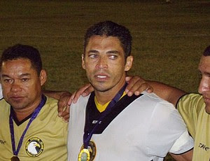 Robson, capitão do Globo Futebol Clube (Foto: Alisson Felipe/CN Agitos)