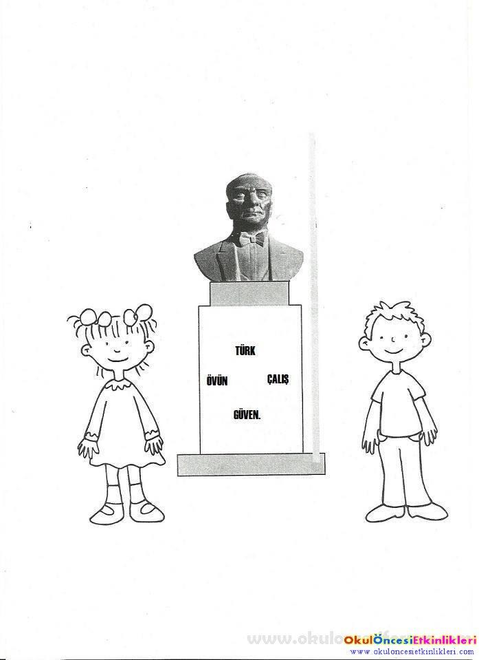 10 Kasım Etkinlikleri Okul öncesi Etkinlikleri Hayallerinizi
