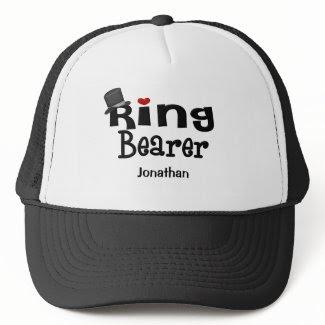 Top Hat Ring Bearer hat