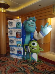 Day 6/7 – Monsters University 3D PremEAR at Sea in Walt Disney Theater