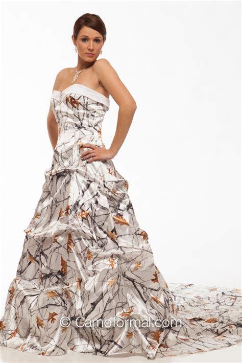 "8896SW ""Louisa"" Sweetheart Pickup Wedding Gown Camouflage"