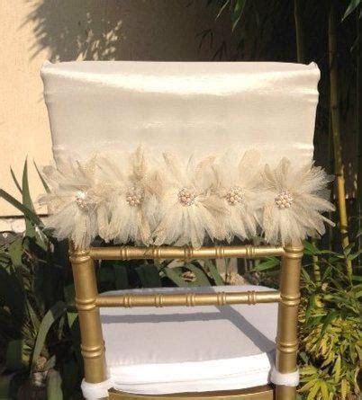 ideas  wedding chair sashes  pinterest