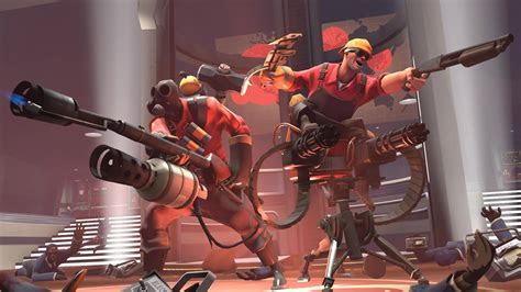 Team Fortress 2 Wallpaper in 1366x768