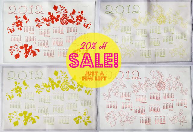 2012 Calendars sale!