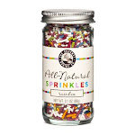 Pepper Creek Farms 300I All Natural Rainbow Sprinkles - Pack of 12