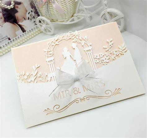 2018 New Bride & Groom Wedding Party Invitation Cards
