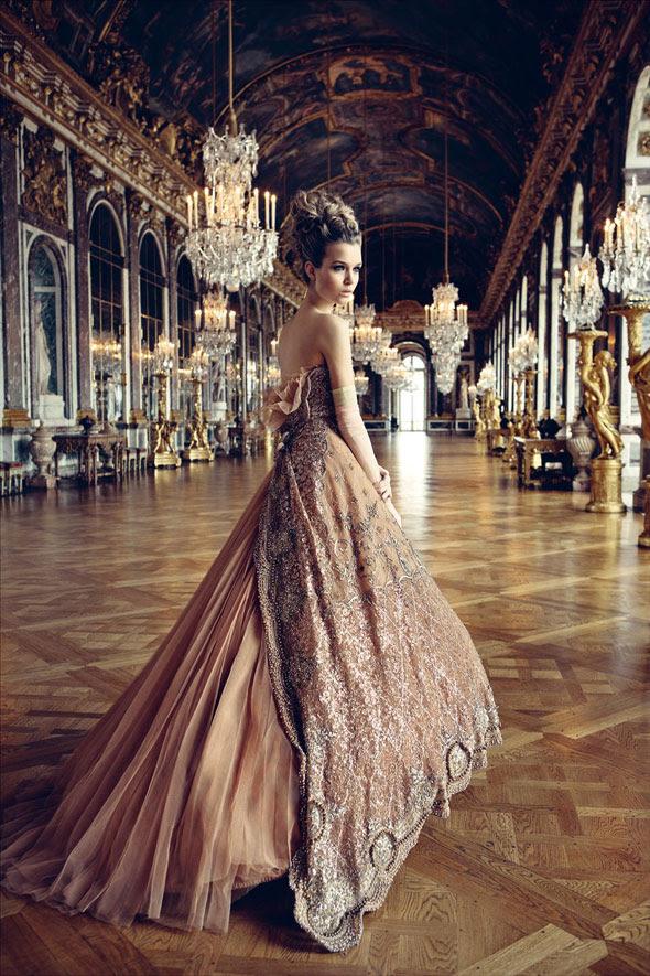 dior jardin secret versailles 1 Campagne Le Jardin Secret de Dior : Retour à Versailles