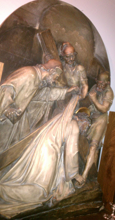Jesus Stations of the Cross Diorama sculpture