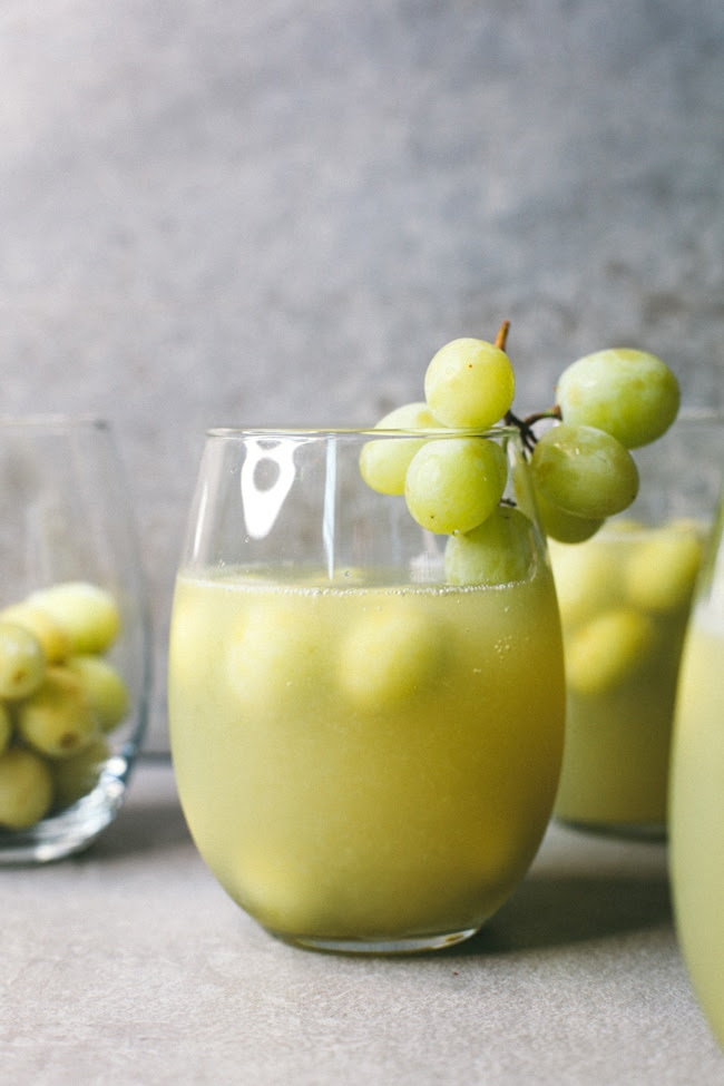 green grape sangria