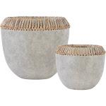 Uttermost - 17718 Aponi Concrete Ray Bowls (Set of 2)