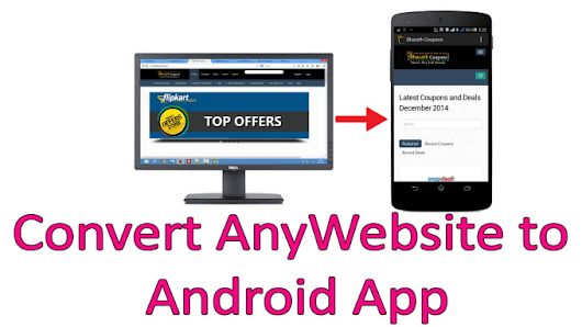 bxtgeek : I will convert your responsive website into an android app for $10 on www.fiverr.com