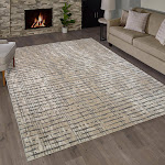 """G.A. Gertmenian and Sons Torino Rug Collection, Lexia Beige, 2'2"""" x 9'"""