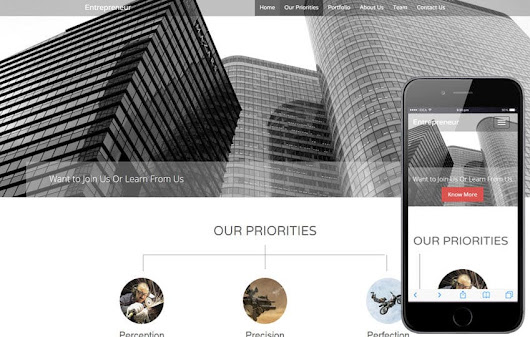 Entrepreneur a Corporate Business Responsive Template , w3layouts