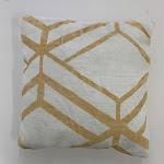 "Mosaic Faux Chinchilla Feel Print Pillow 20"" x 20"" / ANGL295"