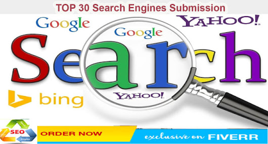 I will manually Submit Your WebSite To Top 30 Search Engines