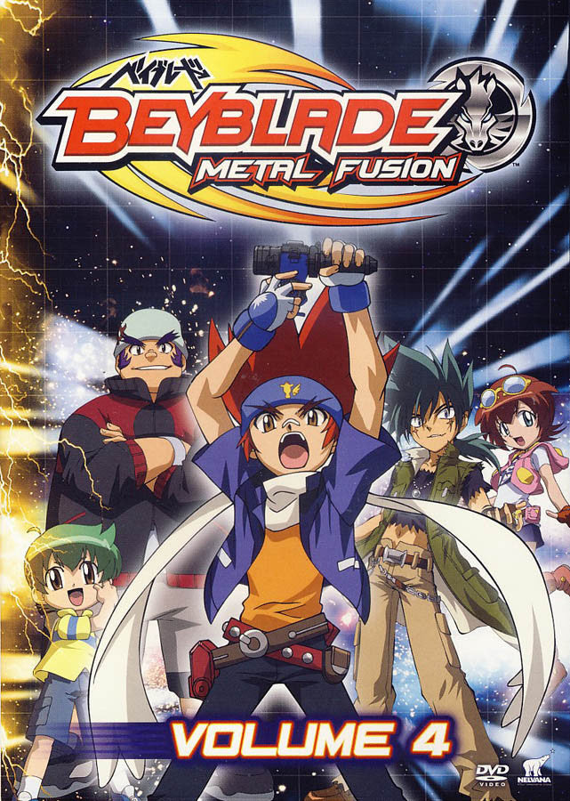 Beyblade: Metal Fusion Volume 4 on DVD Movie
