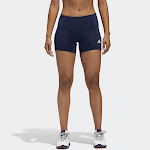 Adidas Womens 4 Inch Spandex Shorts: CD9592 in Red