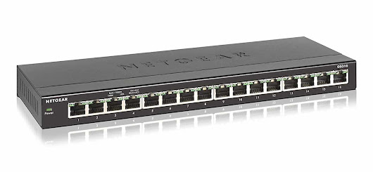 Recommendation - Netgear 16 Port Unmanaged Switch - US Tech Support Solutions, LLC