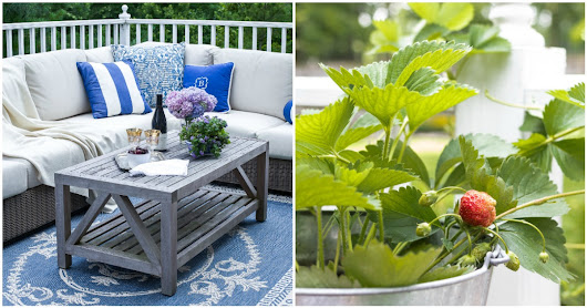 Home Style Saturdays | Outdoor Decorating Tips, French Chandelier, Picnic Lunch - On Sutton Place
