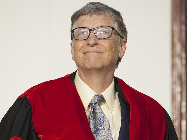 Richer than we ever thought. Bill Gates's fortune is estimated at $US80 billion. AFP PHOT