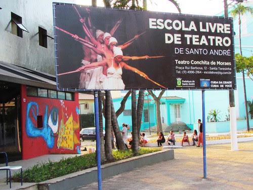 ELT ESCOLA LIVRE DE TEATRO DE STO ANDRÉ by julio dojcsar