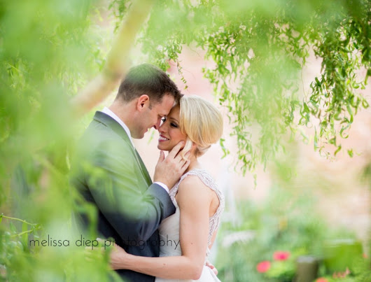 Alisa and Joey's Rustic Chic Wedding at Blumen Gardens