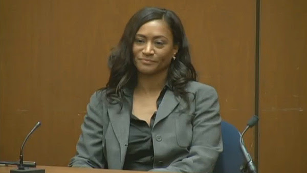 Kai Chase, Michael Jackson's personal chef, is seen here testifying at Conrad Murray's involuntary manslaughter trial on Sept. 29, 2011. Jackson died on June 25, 2009.