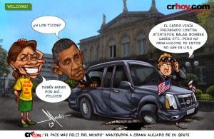"""crToons: """"El país más feliz del mundo"""" mantendrá a Obama alejado de su gente"""